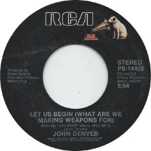 RCA 1987 07 14406 - DENVER JOHN - B