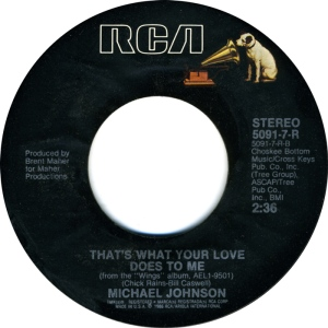 RCA 5091 - JOHNSON MICHAEL B