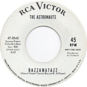 RCA 8545 - ASTRONAUTS - DJ B