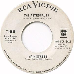 RCA 8885 - ASTRONAUTS DJ A