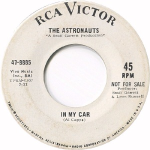 RCA 8885 - ASTRONAUTS DJ B