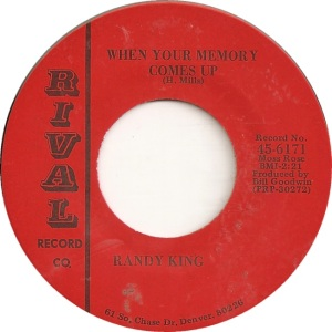 RIVAL 6161 - KING RANDY MEMORY