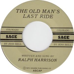 SAGE 1 - HARRISON RALPH 75 D