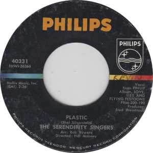 SERENDIPITY SINGERS - PHILIPS 40331 A