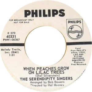 SERENDIPTY SINGERS - PHILLIPS 40331 SLV DJ B