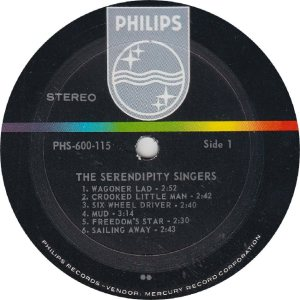 SERENDIPTYS - PHILIPS 600115 - RA