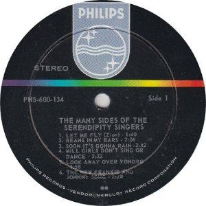 SERENDIPTYS - PHILIPS 600134 - RA