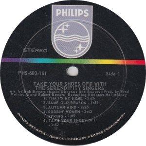 SERENDIPTYS - PHILIPS 600151 - RA