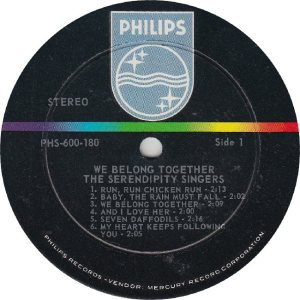 SERENDIPTYS - PHILIPS 600180 - RA
