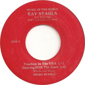 Stahlia 1 - Stahlia, Ray - Freedom in USA
