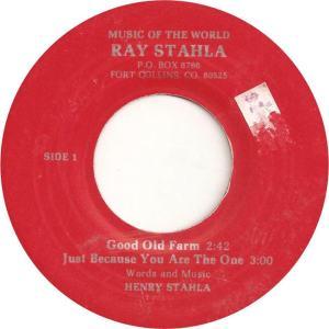 Stahlia 1 - Stahlia, Ray - Good Old Farm