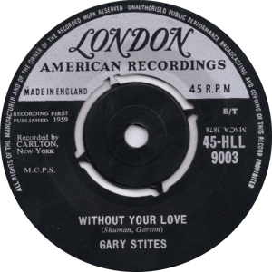 STITES GARY - LONDON 9003 UK - 59 B
