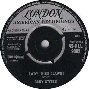 STITES GARY - LONDON 9082 - UK 62 A