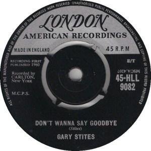 STITES GARY - LONDON 9082 - UK 62 B