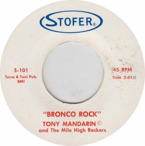 STOFER 101 - MANDARIN - BRONCO ROCK
