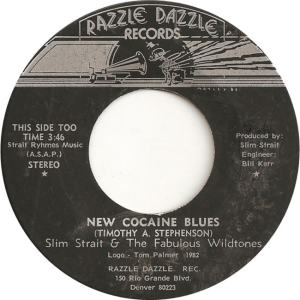 Strait, Slim & Fabulous Wildtones - Razzle Dazzle 1 - New Cocaine Blues