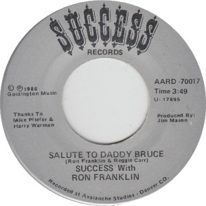 Success 70017 - Franklin, Ron - Salute to Daddy Bruce I