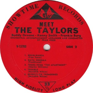TAYLORS - SHOWTIME 13703 - MEET - RB