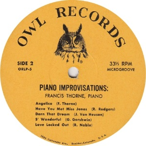 THORNE FRANCIS - OWL 5 - IMPROVISATIONS RAA (2)