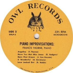THORNE FRANCIS - OWL 5 - IMPROVISATIONS RAA (2)