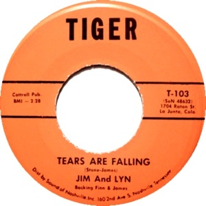 Tiger 103 - Jim and Lynn - Tears Are Falling R