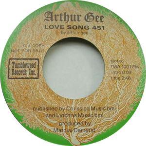 Tumbleweed 1001 DJ M - Gee, Arthur - Love Song 451 b