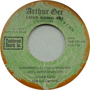 Tumbleweed 1001 DJ M - Gee, Arthur - Love Song 451 R