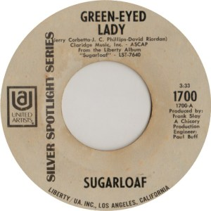 UNITED ARTISTS 1700 - SUGARLOAF - 71 A