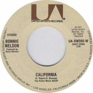 UNITED ARTISTS 305 - NELSON BONNIE 73 A (1)