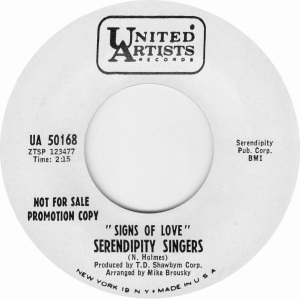 UNITED ARTISTS 50168 - SERENDIPITY DJ B