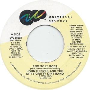 UNIVERSAL 1969 05 66008 - DENVER JOHN A