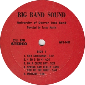 WESTERN CINE 7491 - U OF DEN - BIG BAND SOUND A