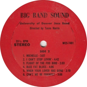 WESTERN CINE 7491 - U OF DEN - BIG BAND SOUND B