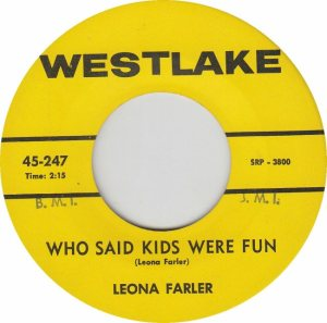 WESTLAKE 247 - FARLER LEIONA - B