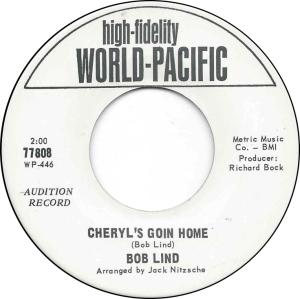 WORLD PACIFIC 77808 - LIND BOB DJ 65 B