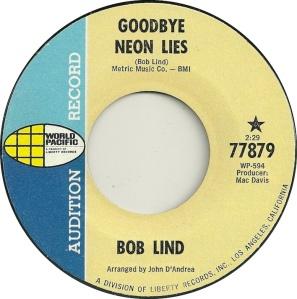 WORLD PACIFIC 77879 - LIND BOB DJ A
