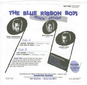 WORMTONE 708 - BLUE RIBBON BOYS 1999 B