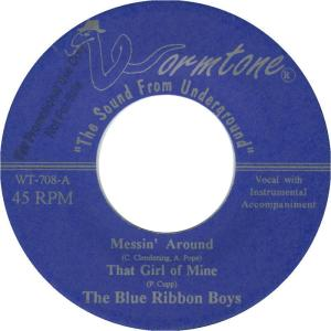 WORMTONE 708 - BLUE RIBBON BOYS 1999 C