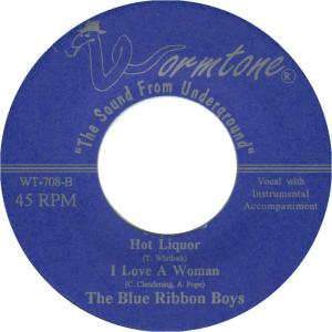 WORMTONE 708 - BLUE RIBBON BOYS 1999 D