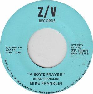 ZV 10001 - FRANKLIN MIKE - A