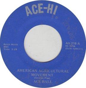 ACE BALL - ACE HI 218