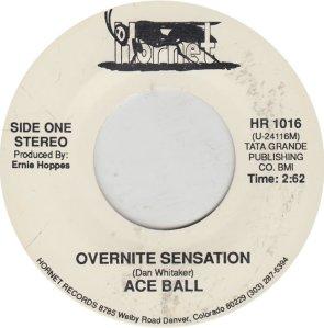 ACE BALL - HORNET 1016