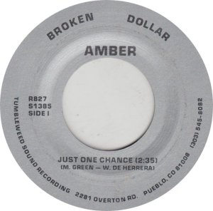 AMBER - BROKEN DOLLAR 827