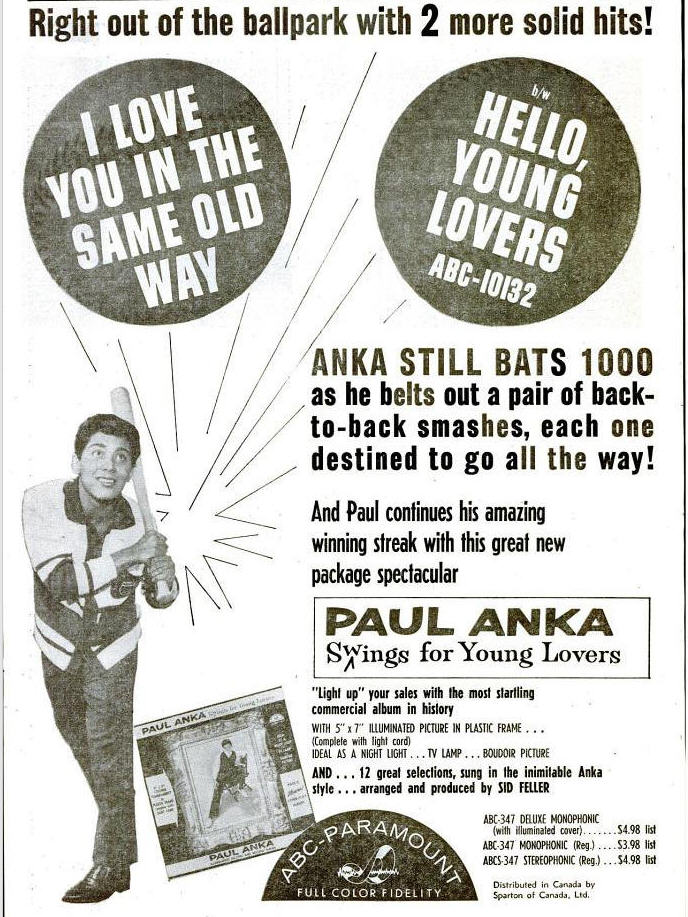 Anka - 08-60 - I Love You In the Same Old Way