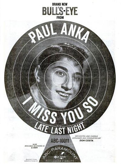 Anka, Paul - 03-59 - I Miss You So