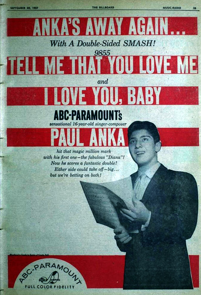 Anka, Paul - 09-57 - Tell Me That You Love Me