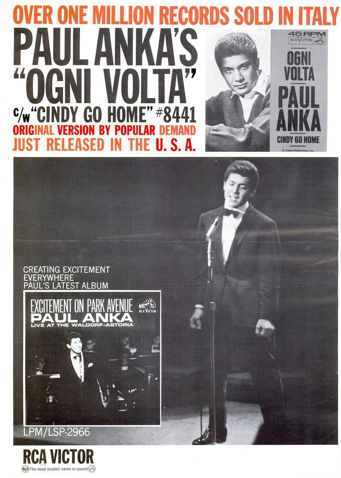 Anka, Paul 10-64 - Ogni Volta
