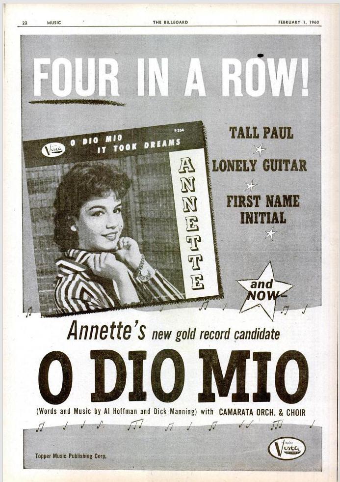 Annette - 02-60 - O Dio Mio