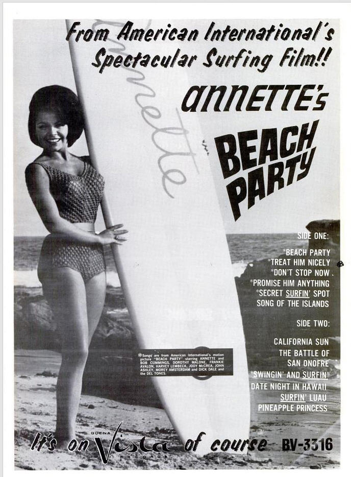 Annette - 07-63 - Beach Party