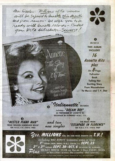 Annette - 09-62 - The Story of My Love